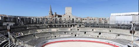 Το amphithater Arles στη Γαλλία Στοκ Εικόνα