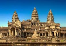 το angkor Καμπότζη συγκεντρώνε Στοκ εικόνες με δικαίωμα ελεύθερης χρήσης