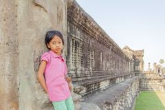 το angkor Καμπότζη συγκεντρώνε Στοκ φωτογραφία με δικαίωμα ελεύθερης χρήσης