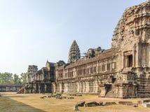 το angkor Καμπότζη συγκεντρώνε Στοκ Φωτογραφίες