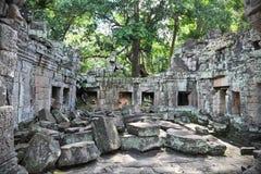 το angkor καταστρέφει wat Στοκ εικόνες με δικαίωμα ελεύθερης χρήσης