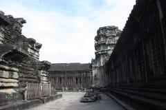 το angkor συγκεντρώνει siem wat Στοκ φωτογραφία με δικαίωμα ελεύθερης χρήσης