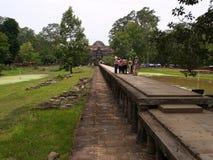 το angkor baphuon συγκεντρώνει siem thom Στοκ Φωτογραφία