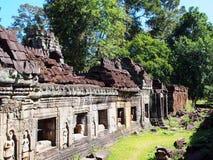 Το Angkor Thom, Siem συγκεντρώνει την Καμπότζη Στοκ εικόνα με δικαίωμα ελεύθερης χρήσης