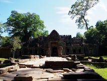 Το Angkor Thom, Siem συγκεντρώνει την Καμπότζη Στοκ Εικόνες