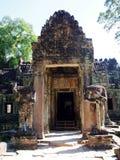 Το Angkor Thom, Siem συγκεντρώνει την Καμπότζη Στοκ φωτογραφία με δικαίωμα ελεύθερης χρήσης