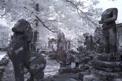 Το Angkor thom Siem συγκεντρώνει την Καμπότζη Στοκ Εικόνα