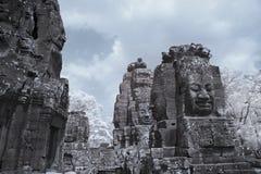 Το Angkor thom Siem συγκεντρώνει την Καμπότζη Στοκ Εικόνες