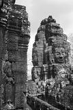 Το Angkor thom Siem συγκεντρώνει την Καμπότζη Στοκ φωτογραφία με δικαίωμα ελεύθερης χρήσης