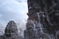 Το Angkor thom Siem συγκεντρώνει την Καμπότζη Στοκ εικόνα με δικαίωμα ελεύθερης χρήσης
