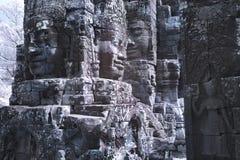Το Angkor thom Siem συγκεντρώνει την Καμπότζη Στοκ εικόνες με δικαίωμα ελεύθερης χρήσης