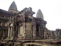 Το Angkor Wat, αρχαίο lanmark, Siem συγκεντρώνει, Καμπότζη Στοκ Εικόνες