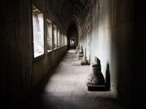 Το Angkor Wat, αρχαίο lanmark, Siem συγκεντρώνει, Καμπότζη Στοκ εικόνες με δικαίωμα ελεύθερης χρήσης