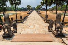Το Angkor Wat είναι ένας ναός σύνθετος στην Καμπότζη Στοκ εικόνα με δικαίωμα ελεύθερης χρήσης