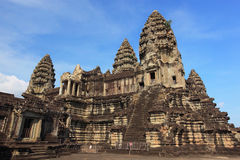 Angkor Wat στην Καμπότζη Στοκ εικόνα με δικαίωμα ελεύθερης χρήσης