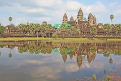 Angkor Wat στην Καμπότζη Στοκ Φωτογραφία