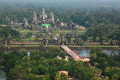 Angkor Wat στην Καμπότζη Στοκ Φωτογραφίες