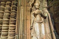 Το Angkor Wat σε Siem συγκεντρώνει, Καμπότζη Στοκ Εικόνες