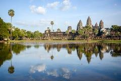 Το Angkor Wat σε Siem συγκεντρώνει, Καμπότζη Στοκ φωτογραφία με δικαίωμα ελεύθερης χρήσης
