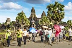 Το Angkor Wat σε Siem συγκεντρώνει Στοκ φωτογραφίες με δικαίωμα ελεύθερης χρήσης