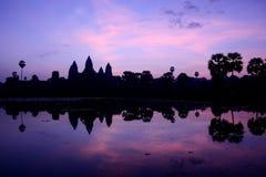 Το Angkor Wat στην ανατολή, Siem συγκεντρώνει, Καμπότζη Στοκ φωτογραφίες με δικαίωμα ελεύθερης χρήσης