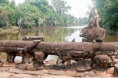 Το Angkor Wat σύνθετο, Siem συγκεντρώνει, Καμπότζη Στοκ Εικόνες