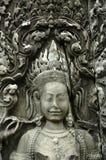 Το Angkor Wat Bayon 1000 χρονών χαμογελά Στοκ εικόνες με δικαίωμα ελεύθερης χρήσης
