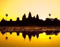Το Angkor Wat, Siem συγκεντρώνει, Καμπότζη. Στοκ φωτογραφία με δικαίωμα ελεύθερης χρήσης