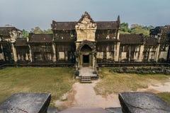 Το Angkor Wat, Siem συγκεντρώνει, Καμπότζη Στοκ φωτογραφίες με δικαίωμα ελεύθερης χρήσης