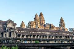 Το Angkor Wat Siem συγκεντρώνει, Καμπότζη Στοκ Εικόνες