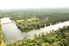 Το Angkor wat siem συγκεντρώνει το βασίλειο της Καμπότζης της κατάπληξης Στοκ εικόνες με δικαίωμα ελεύθερης χρήσης