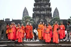 Το Angkor wat siem συγκεντρώνει το βασίλειο της Καμπότζης της κατάπληξης Στοκ Φωτογραφίες