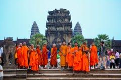 Το Angkor wat siem συγκεντρώνει το βασίλειο της Καμπότζης της κατάπληξης Στοκ φωτογραφίες με δικαίωμα ελεύθερης χρήσης