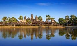 Το Angkor Wat, Angkor Thom, Siem συγκεντρώνει, Καμπότζη Στοκ Εικόνα