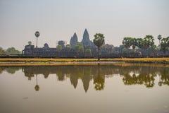 Το Ankor Wat, Siem συγκεντρώνει, Καμπότζη Στοκ εικόνες με δικαίωμα ελεύθερης χρήσης