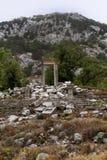 το antalya καταστρέφει πλησίον τα termessos Τουρκία Στοκ εικόνα με δικαίωμα ελεύθερης χρήσης