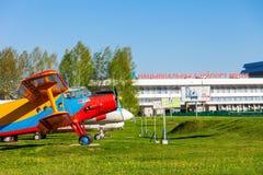 Το Antonov ένας-2 αεροσκάφη Στοκ Φωτογραφίες