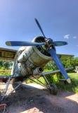 Το Antonov ένας-2 σοβιετικό παραγμένο μαζικά με ένα κινητήρα biplane Στοκ Εικόνα