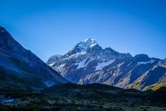Το Aoraki τοποθετεί το τοπίο Cook, Νέα Ζηλανδία Στοκ φωτογραφία με δικαίωμα ελεύθερης χρήσης
