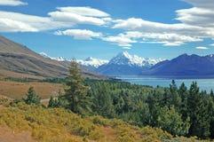 Το Aoraki, τοποθετεί το εθνικό πάρκο Cook, Νέα Ζηλανδία Στοκ φωτογραφίες με δικαίωμα ελεύθερης χρήσης
