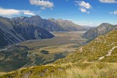 Το Aoraki, τοποθετεί το εθνικό πάρκο Cook, Νέα Ζηλανδία Στοκ Εικόνα