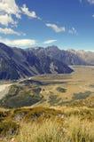 Το Aoraki, τοποθετεί το εθνικό πάρκο Cook, Νέα Ζηλανδία Στοκ Φωτογραφία