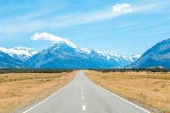 Το Aoraki τοποθετεί το εθνικό πάρκο Cook, NZ Στοκ εικόνες με δικαίωμα ελεύθερης χρήσης