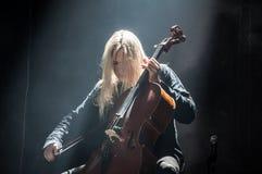 Το Apocalyptica ζει το 2017 Στοκ φωτογραφία με δικαίωμα ελεύθερης χρήσης