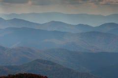 Το Appalachians της δυτικής βόρειας Καρολίνας Στοκ φωτογραφία με δικαίωμα ελεύθερης χρήσης