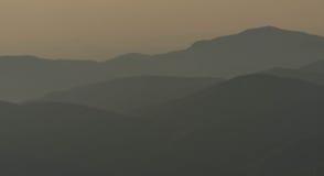 Το Appalachians της δυτικής βόρειας Καρολίνας Στοκ φωτογραφίες με δικαίωμα ελεύθερης χρήσης