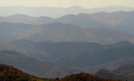 Το Appalachians της δυτικής βόρειας Καρολίνας Στοκ Εικόνες