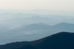 Το Appalachians της δυτικής βόρειας Καρολίνας Στοκ εικόνα με δικαίωμα ελεύθερης χρήσης