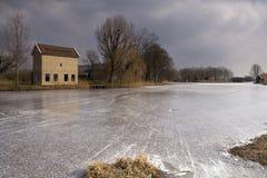 Το Appelhuis κοντά σε Alblasserdam Στοκ Φωτογραφίες