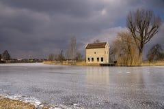 Το Appelhuis κοντά σε Alblasserdam Στοκ φωτογραφίες με δικαίωμα ελεύθερης χρήσης